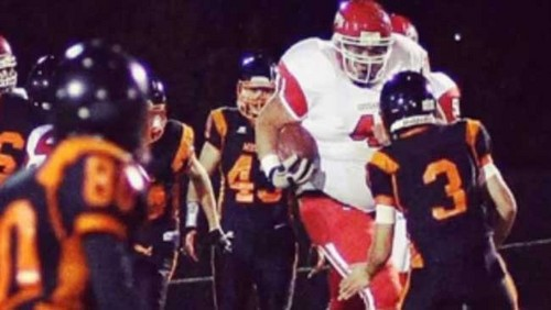 400-pound running back, Meet Tony Picard, the next 'big' thing