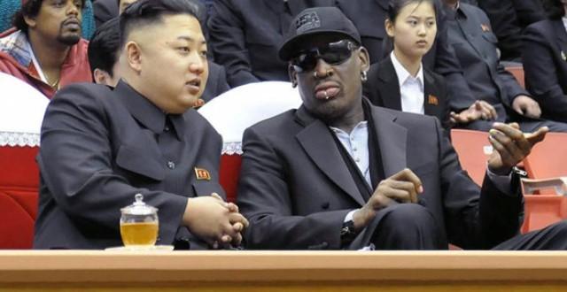 Dennis rodman visits north korea  : makes second trip