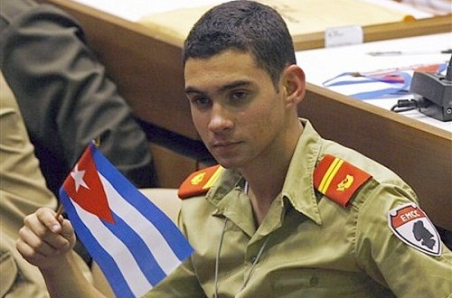 Elian gonzalez joins cuban military : Cuba Releases Photo