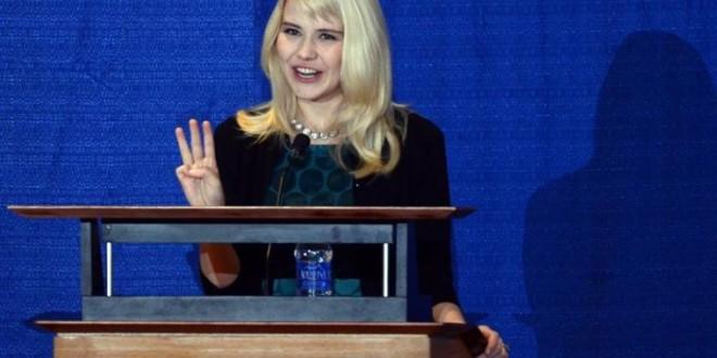Elizabeth Smart activist for abused children : Conference