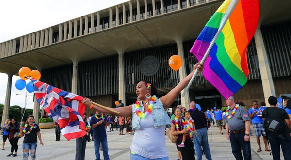 Hawaii gay marriage : Democrats, Republicans React to SB1 Passage