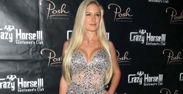 Heidi Montag Surgery Regret : former reality TV Had a Breast Reduction