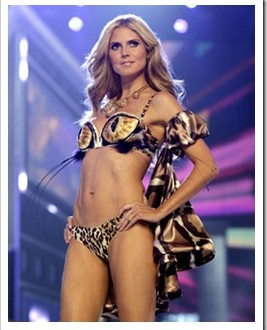 Heidi klum weight : Star reveals supermodel diet secrets