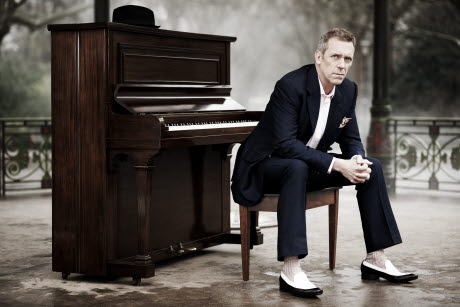 Hugh laurie music career : 'I'm in it for the long haul'