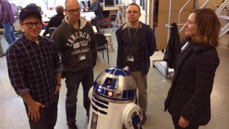 JJ abrams : Virginia, R2-D2 will be in 'Star Wars Episode VII'