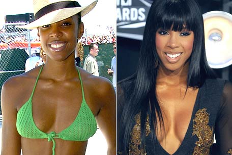 Kelly rowland breast augmentation : Singer explains Boob Job