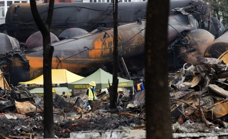 Lac-Mégantic : Ottawa sets $95M for Quebec train disaster decontamination