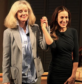 Sarah jessica parker : 'Commons of Pensacola' Curtain Call (PHOTO)