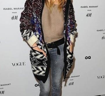 Sienna miller : Isabel Marant For H&M Lands (Photo)