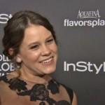 Sosie Bacon named Miss Golden Globe 2014 (VIDEO)