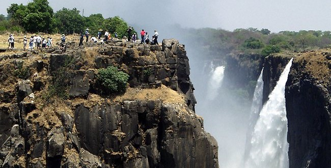 Victoria Falls plunge : Tourist survives 15m gorge fall in Zambia