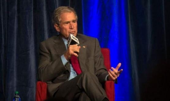 George w. bush : Former President Calls for Keystone XL Construction