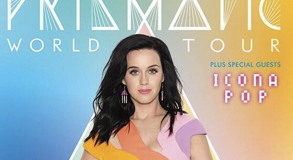Katy Perry : Singer Reveals 'Prismatic World Tour' Dates