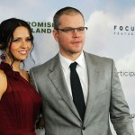 Actor Matt Damon and Luciana Bozán Barroso mix Christmas traditions