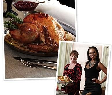 Alicia Keys and Mom Terria Joseph's Turkey in a Bag