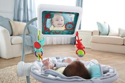 Hub group: Baby seat with iPad holder stirs controversy