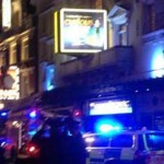 Balcony collapses at London's Apollo theatre