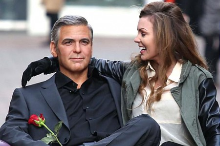 Stacy Keibler split with George Clooney : Actor dating Nicole Pearson