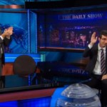 Jon Stewart brings John Oliver to tears on 'Daily Show' sendoff