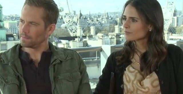 Actress Jordana Brewster Pays Tribute to Colleague Paul Walker