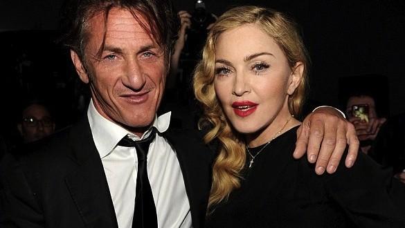 Madonna reunites with ex Sean Penn In Haiti