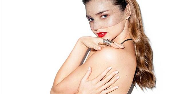 Miranda Kerr from Australia : Star goes topless as she talks about Orlando split