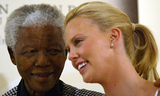 Hollywood Reacts to Nelson Mandela's Death : Charlize Theron, Morgan Freeman, Rihanna & More