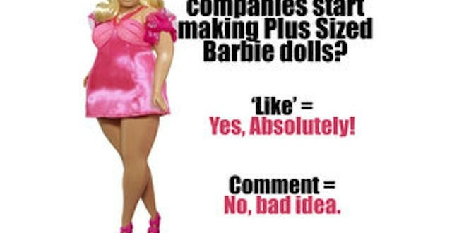 Plus-size Barbie dolls Sparks Debate Over Body Image