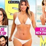 Reality TV star Kim Kardashian down 50 pounds (PHOTO)