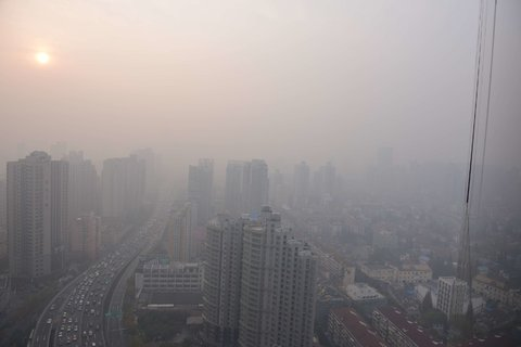 Shanghai to suffer smog into the weekend (VIDEO)