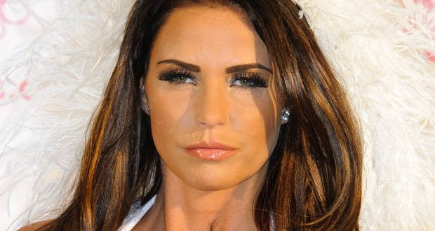 Singer Katie Price hospitalised with mystery illness