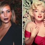 Star Kim Kardashian similar to Marilyn Monroe?