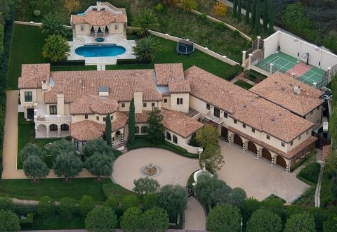 Barry Bonds Selling Beverly Hills House for $25 million (PHOTO)