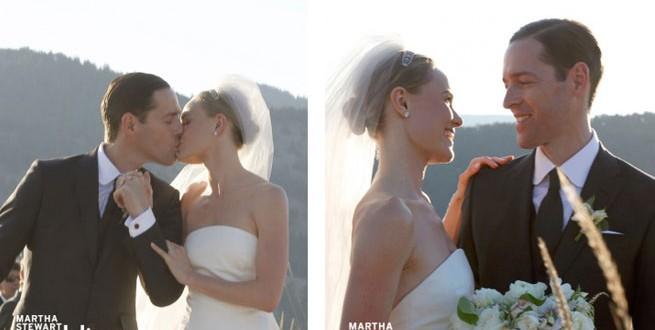 Kate Bosworth Wears an Oscar de la Renta Wedding Dress (VIDEO)