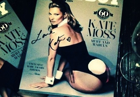 Kate Moss' Playboy Cover Is Here (PHOTO)