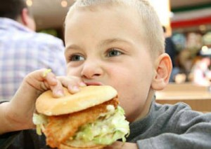 fast food the main cause of childhood obesity
