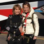 Gabby Giffords Skydives to Celebrate Life