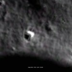 Mysterious triangle Spotted on Moon by Google