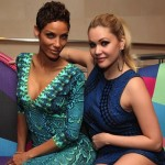 Shanna Moakler and Nicole Murphy Enjoy Dinner at N9NE Steakhouse