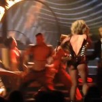 Singer Britney Spears Suffers Wardrobe Malfunction in Las Vegas