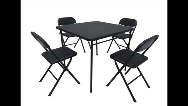 Walmart Recalls Card Table And Chair Sets VIDEO Canada Journal News of