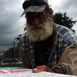 Jared Guynes delivered pizza to homeless