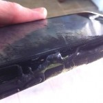 Maine Girl's iPhone catches fire
