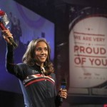 Olympic Lolo Jones: I'm not dating Ndamukong Suh