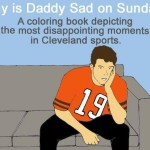 Sad Cleveland sports moments coloring book
