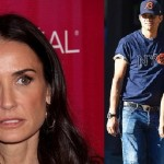Demi Moore : Actress Reacts to Kutcher's Baby News