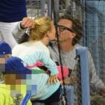 Gwyneth spotted kissing ex