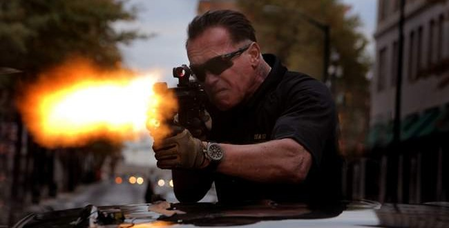 Sabotage movie : Arnold Schwarzenegger somehow better with age