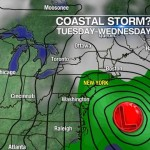 Spring Nor'easter coming