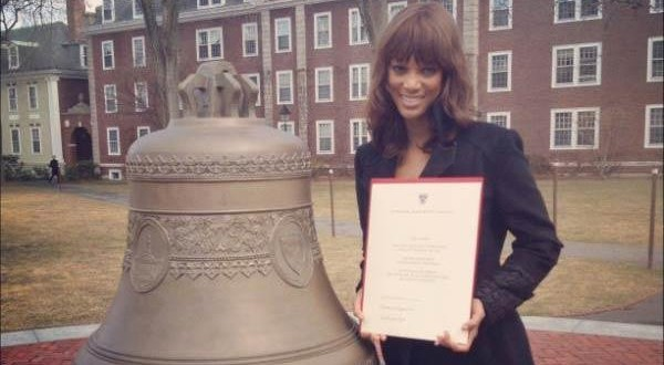 'America's Next Top Model' Creator Tyra Banks Graduates from Harvard : Report